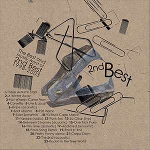 The Best and Mostly Worst of 2nd Best 1998-2003 compliation album cover thumbnail