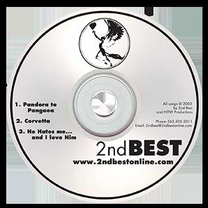 2nd Best Summer Tour Sampler 2003 thumbnail