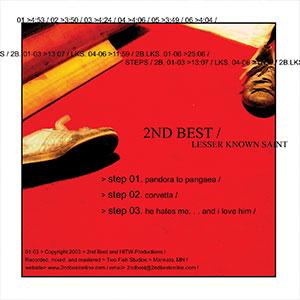 Steps 2nd Best Split Album Cover Thumbnail